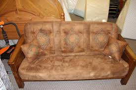 bedroom solid wood futon with wooden futon