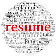 resume writing activity resume writing the super organizer universe bigstock resume concept in word tag clo 36378274