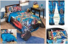Transformer Bed Set New Boys Transformers 4 Bedding Bed In A Bag Comforter Set