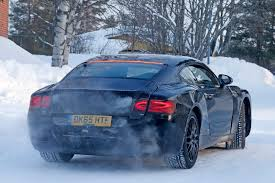 black bentley back spy photos specs of new 2018 bentley continental gt by car magazine
