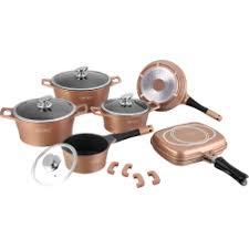batterie de cuisine ceramique batterie de cuisine de 14 pièces en céramique 14