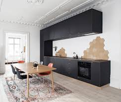 Interior Design For Small Living Room And Kitchen 31 Black Kitchen Ideas For The Bold Modern Home Freshome Com