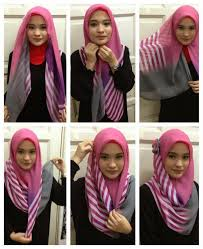 tutorial hijab simple tapi menarik tutorial hijab segi empat paris simple dan modis terbaru bundaku net