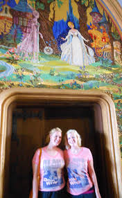 cinderella castle mosaic murals elly and caroline s magical moments cinderella castle mosaic murals