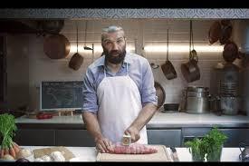 publicité cuisine sébastien chabal cuisine le rosbeef pour