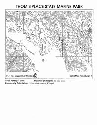 Petersburg Alaska Map by Southeast Marine Parks