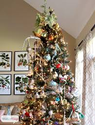themed christmas tree decorations 2013 christmas house tour hundreds of decorating ideas