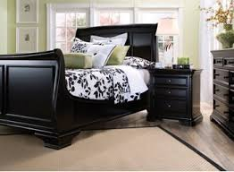 black king bedroom sets amazon com reflections black cherry 4pc king bedroom set kitchen