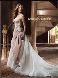 two color wedding dress help me find this benjamin two tone antique dress