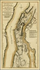 New York Washington Map by A Topographical Map Of The Northn Part Of New York Island