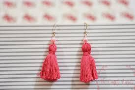 earrings diy diy tassel earrings tutorial