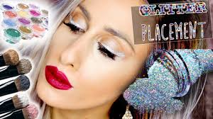 Free Makeup Classes Where To Apply Glitter 10 Eye Glitter Placements Free Online