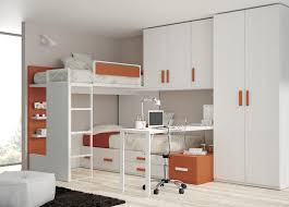 Bedroom Wall Units Wardrobe Orange Wall Unit Shelves Cream Wardrobe With Drawer Double Bunk