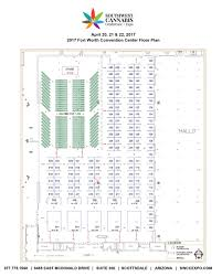 Expo Floor Plan by 2017 Ft Worth Floor Plan Texas Southwest Cannabis Conference