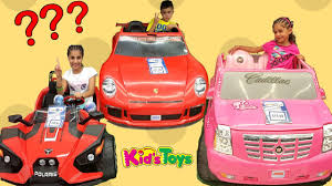 power wheels ride on cars toys r us family fun video hzhtube kids