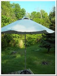 Replacement Patio Umbrella Covers 100 4117 An Umbrella Made From A Drop Cloth Put It On An