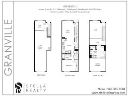 Central Park Floor Plan by Granville Central Park West Irvine Condominiums For Sale