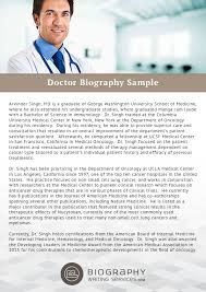 doctor biography sample png