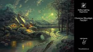 Moonlight Landscape Lighting by Christmas Moonlight Gallery Lighting Experience Youtube