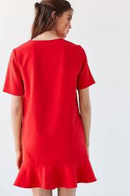 shift dress blaque label peplum shift dress outfitters