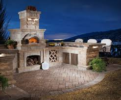 Outdoor Kitchen Pizza Oven Design Outdoor Kitchens Arizona Pizza Oven Wall Fireplace
