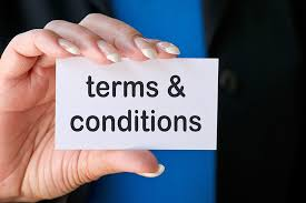 Terms Conditions Terms Conditions