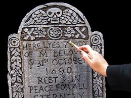 how to make styrofoam tombstones for halloween how tos diy