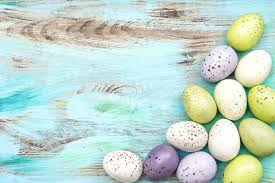 pastel easter eggs pastel colored easter eggs on wooden background stock photo