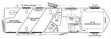 horse trailer living quarter floor plans flickriver photoset trailer living quarters floor plains by