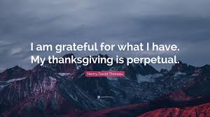 henry david thoreau quote i am grateful for what i my