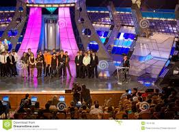 most popular tv shows kvn one of most popular russian tv show editorial stock photo