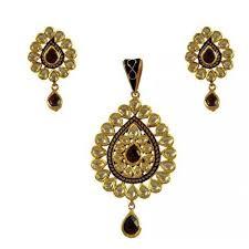 antique necklace pendants images Antique kundan pendants set at rs 61576 piece laxmi nagar jpg