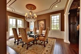 Stunning Dining Room Wall Colors Contemporary Interior Design - Dining room wall paint ideas