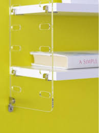 Wall Mounted Shelving Units by Wall Mounted Shelving Unit Plex String Furniture Plastic