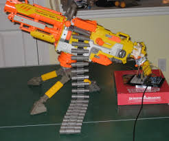 nerf car gun arduino controlled nerf vulcan 10 steps with pictures