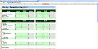 business budget template financial budget spreadsheet