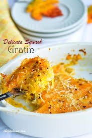 herbed delicata squash gratin thanksgiving dinner countdown recipe