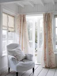Shabby Chic Window Treatment Ideas by Our New Living Room Has A Window On One Side And Door On The Other