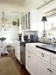 old white kitchen cabinets best good antique white galley kitchen 6937
