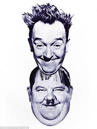 the chaotic love lives of laurel and hardy revealed daily mail