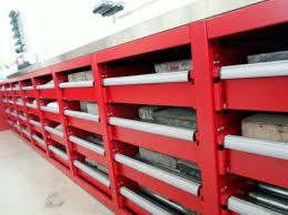 Modular Drawer Cabinet Litho Stone Storage Project Western Storage And Handling