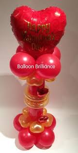 valentines day balloon delivery 18 filigree hearts around s day more