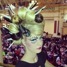 history of avant garde hairstyles avant garde hair by claire thomson aht hair competition model