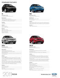 2011 ford focus se specs 2011 ford focus sedan herr ford lincoln mercury ny
