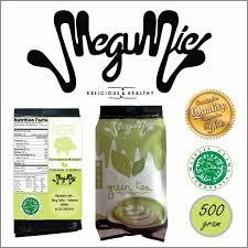 Teh Hijau Serbuk megumie green tea latte matcha powder 500gr bubuk minuman teh hijau