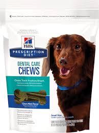hill u0027s prescription diet dental care chews dog treats small 12
