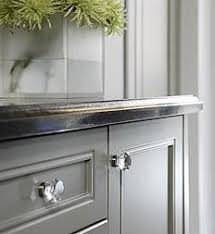 Gray Cottage Kitchen Furniture ReDos Pinterest Cottage - Glass kitchen cabinet pulls