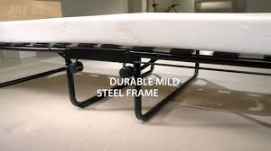 Foam Folding Bed Be Impression Folding Bed With Memory Foam Mattress