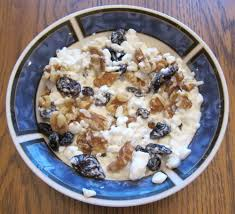 Cottage Cheese Recepies by Cottage Cheese Breakfast With Raisins And Walnuts U2013 Melanie Cooks