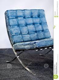 sedia barcellona sedia famosa di barcellona nel colore delle blue immagine